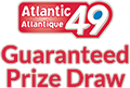 Atlantic 49 Guaranteed Prize Draw