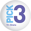 Tri-State Pick 3 Evening Lottery Results and Game Details